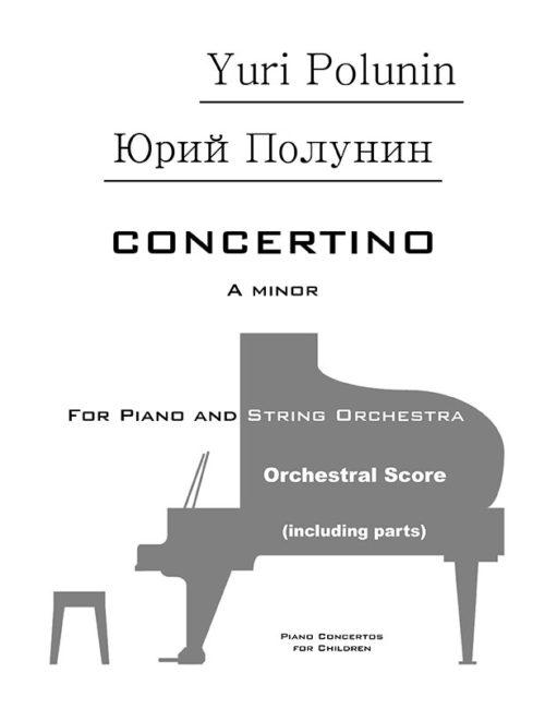 Piano concertos for children - Y. Polunin