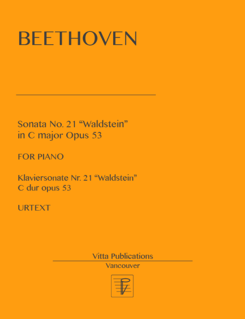 Beethoven, Sonata no. 21