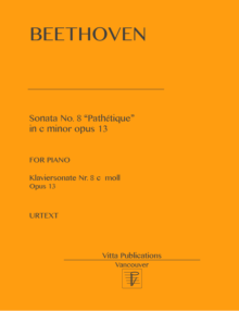 Beethoven Sonata no. 8 